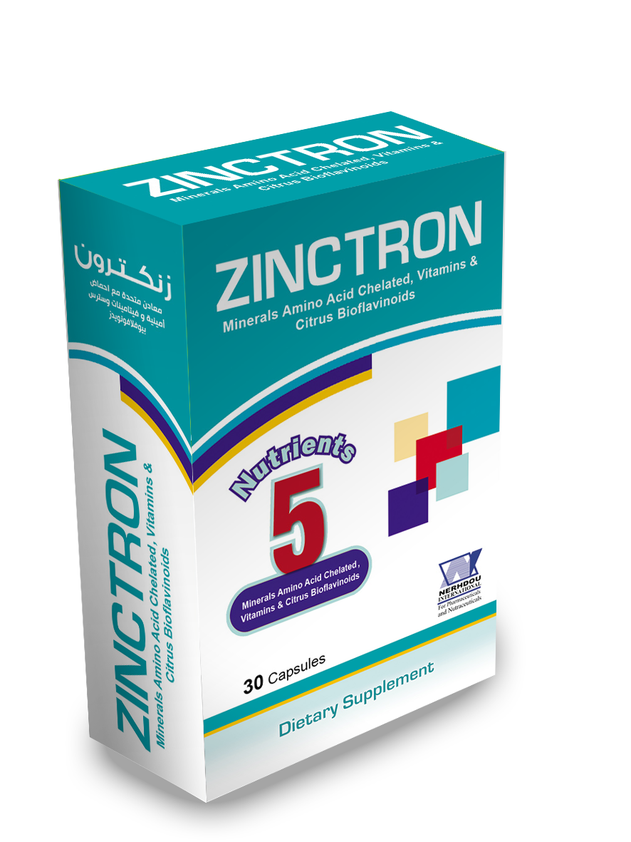 Zinctron…for healthy skin & hair