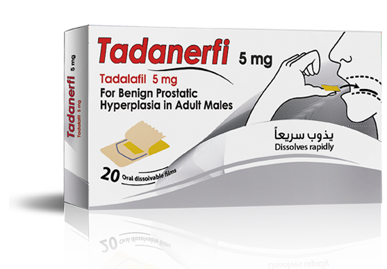 TADANERFI 5mg …  Supports life quality